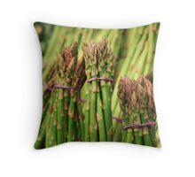 Bundle of Green Throw Pillow