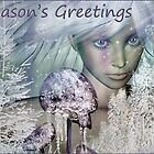 Ivory Christmas Card by janrique
