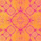 Iridium Atoms Orange Pink by atomicshop