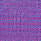 Silicon  Atoms Purple Blue by atomicshop
