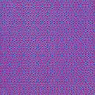 Silicon  Atoms Purple Blue by atomicshop