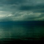 Dark calm sea by ivanarezek