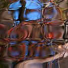 Stained glass water by Bruce Bischoff