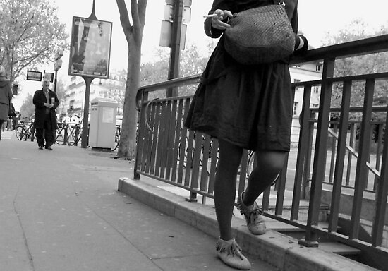Paris - Smoking Time. by Jean-Luc Rollier