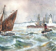 Off Ramsgate by Colin Cartwright