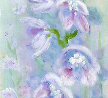 Blue Delphinium by Blended