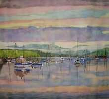 Lake Windermere looking north by doatley