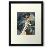 Abandoned - A little strange feeling for each of us... Framed Print