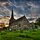 Cuckfield Church by Pete Costick