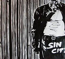 Sin city marv by scribbletits