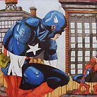 Comic book Legends    Artwork by  Steve by scribbletits