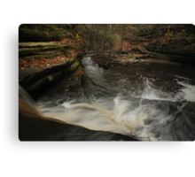 Top of Giant's Bathtub Falls Canvas Print