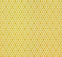 Silicon Atoms Yellow by atomicshop