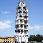 Tower of Pisa, Italy by Lael Woodham