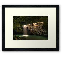 The Natural Bridge Framed Print