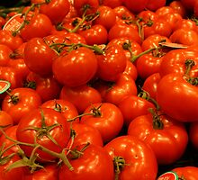 Rich Red Tomatoes by TeAnne