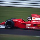 JJ Lehto, 1991 German F1 GP by Mark Prior