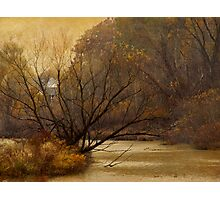 Autumn on the River Photographic Print
