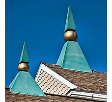 Triangles and Balls Photographic Print