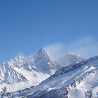 Chamonix Snowy Mountains by maxrandall