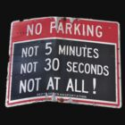 No Parking No Way by April Anderson