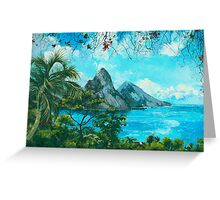 St. Lucia - W. Indies No. I Greeting Card