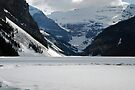Ice Rink - Lake Louise by Barbara Burkhardt
