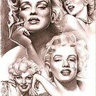Marilyn Monroe by Alleycatsgarden