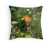 Beautiful Blur - the Butterfly as Abstract Art Throw Pillow