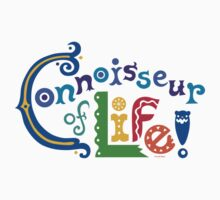 Connoisseur of Life - t shirt by Andi Bird
