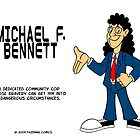 Micheal Bennett by fazeman