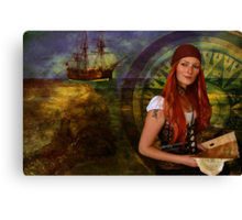 The Voyager Canvas Print