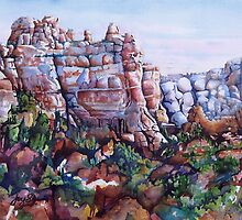 Snoopy Rock - Sedona Arizona by Joy Skinner