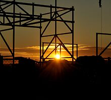 Industrial Sunset by nikond