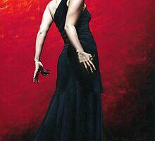 Flamenco Arrogancia by Richard Young