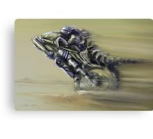 Gator Rider Canvas Print