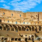 Coliseum - Italy2 by Lawrence Henderson