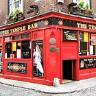 Temple Bar - Dublin Ireland by Lawrence Henderson