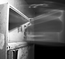 Abandoned Refrigerator by oceanmist