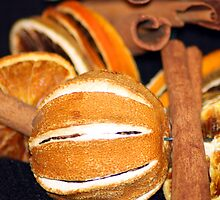 Cinnamon Sticks & Oranges by Lynn Ede