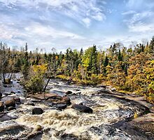 Whiteshell River by Vickie Emms