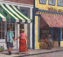 Afternoon Stroll by Susan Savad