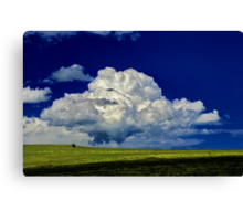 """The Little White Cloud That Cried"" Canvas Print"