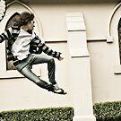 Ninja stylin' by Sarah Moore