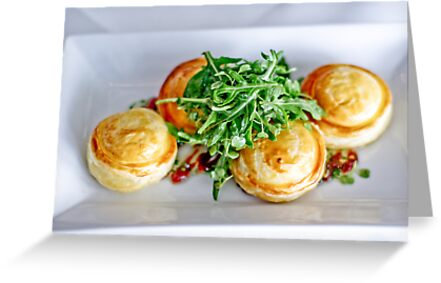 Food: Goats cheese tart by Vanessa Pike-Russell
