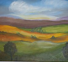 Rolling Hills by wendy1968