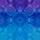 Iridium Atoms Blue Purple by atomicshop