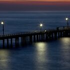 Point Lonsdale Pier 7.00 am by Jack Jansen