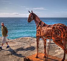 A Sculpture by the Sea at Bondi by Rod Kashubin