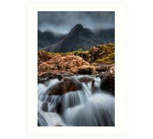 The Faerie Pools, Isle of Skye, Scotland. Art Print